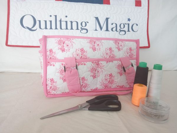 Sew caddy pale pink