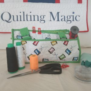 Sew caddy green