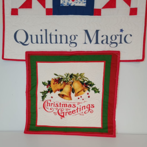 Seasons greetings wallhanging-mini 19x18 inch
