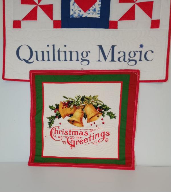 Seasons greetings wallhanging-mini 19x18 inch