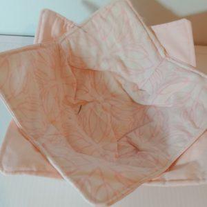 Bowl holder – reversible, soft pink, 8x8