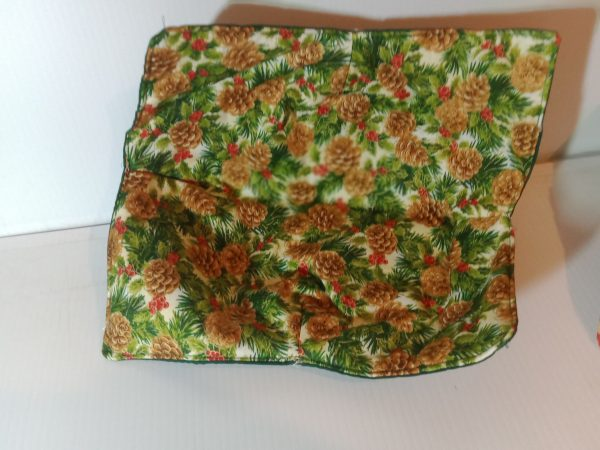 Casserole bowl holders size 10x10 red berry