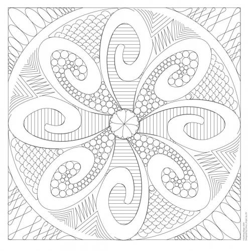 Quilting Magic - swirls and curls